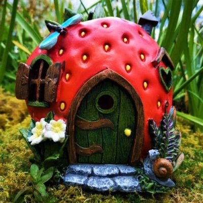 solar strawberry irish fairy houses