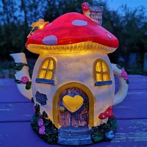 teapot fairy garden houses