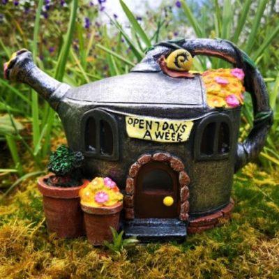 solar fairy garden homes