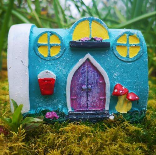 solar caravan fairy home