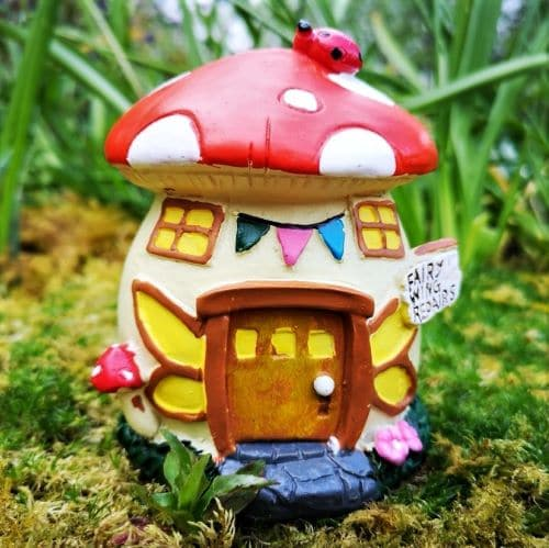 toadstool solar fairy houses ireland