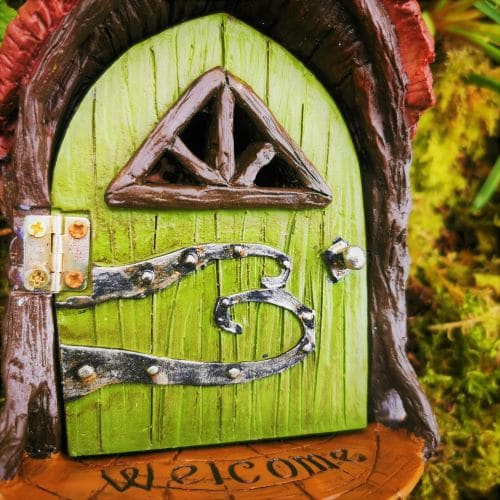 landing pad fairy door