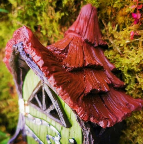 fairy house roof