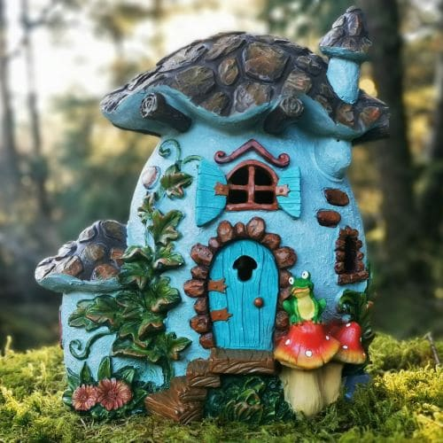 frog cottage fairy house