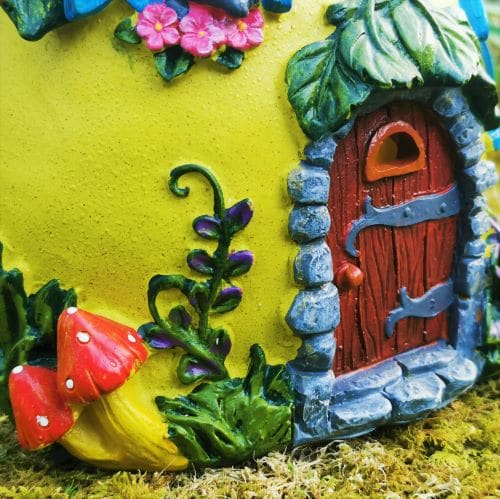fairy garden house door