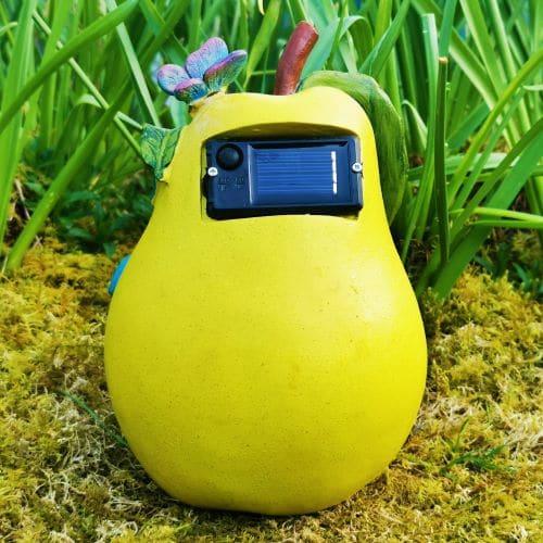 solar pear garden house