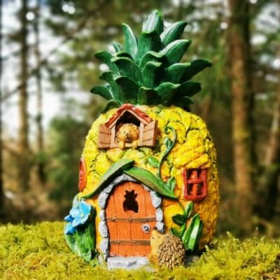 pineapple fairy house