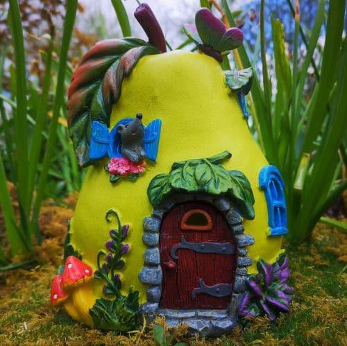 pear solar fairy houses from ireland