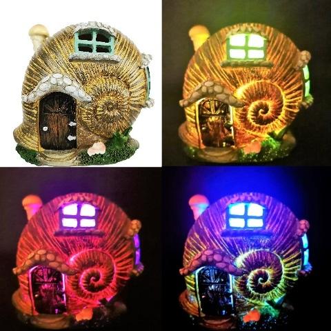 shell fairy garden houses