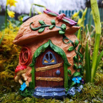 walnut solar fairy houses