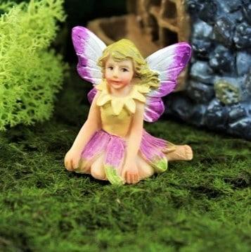 petal fairy figurine