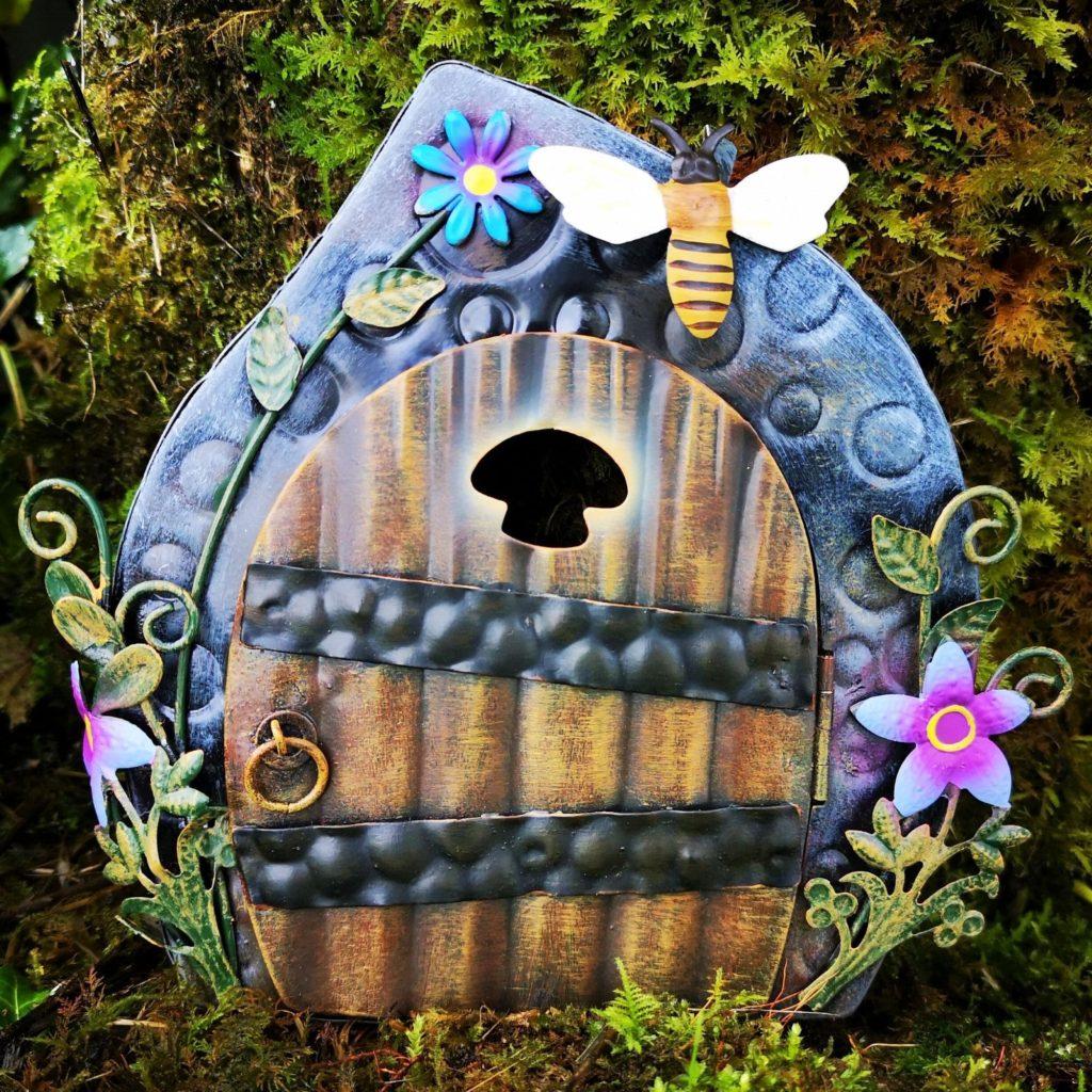 metal magical portal