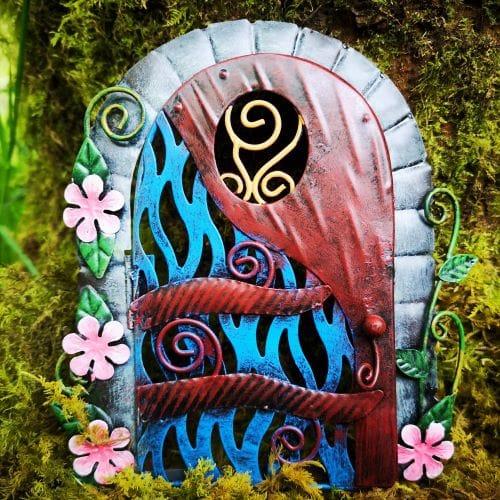 metal opening fairy doors ireland