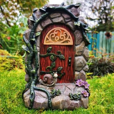 solar fairy night light door