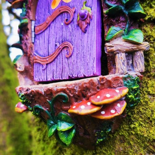 mushrooms on the landing pad