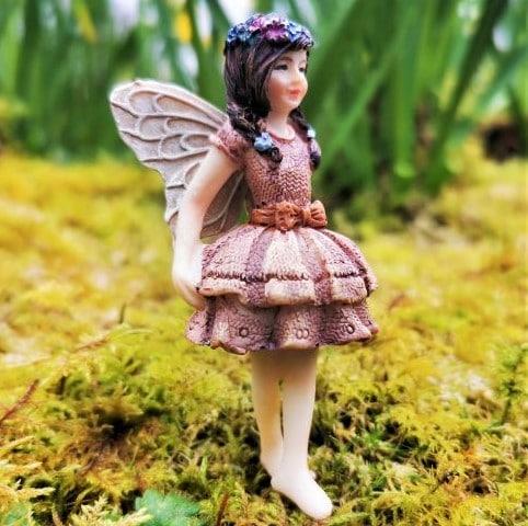 ballerina fairy figurine