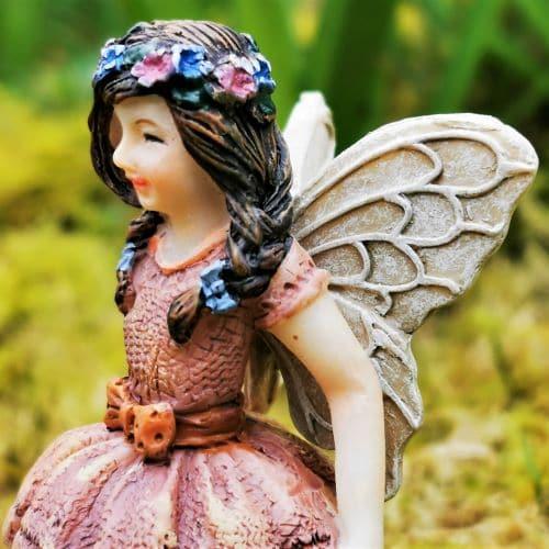 ballet dancer fairy ornament