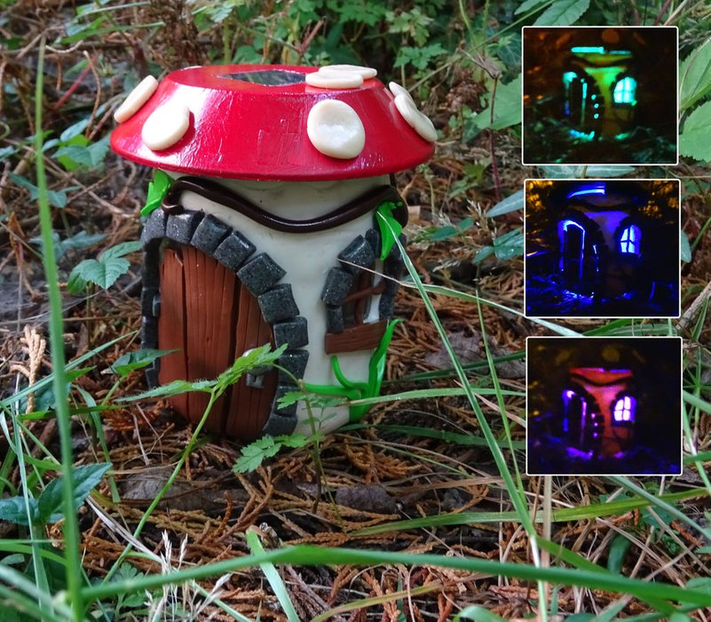 diy solar fairy house you can make yourself