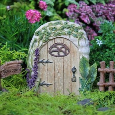 resin fairy door for outside
