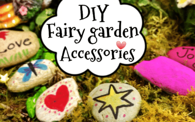 How to make a Fairy Garden Part 1. Stepping Stones