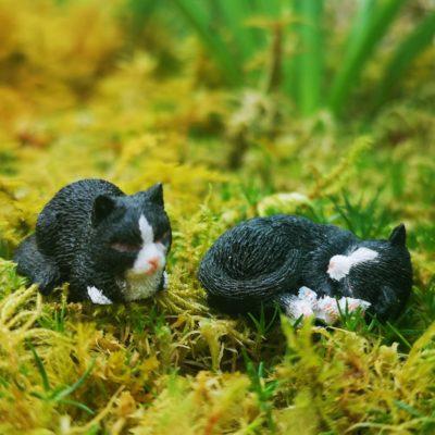 miniature fairy garden animal sets