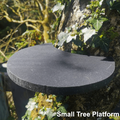 tree platform for fairy houses and doors
