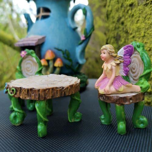 miniature fairy garden tree kit