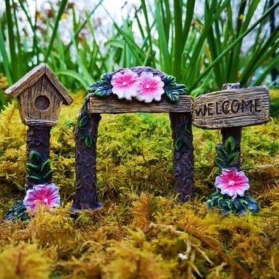 fairy garden accessories set