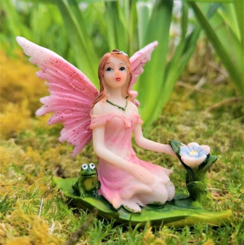 pink fairy figure ireland