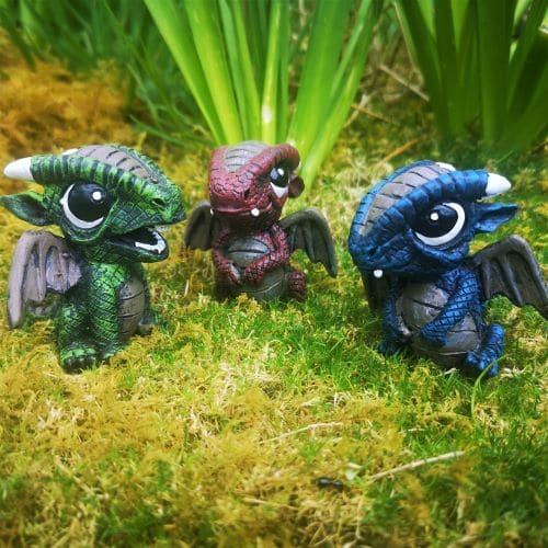 miniature dragon ornaments ireland