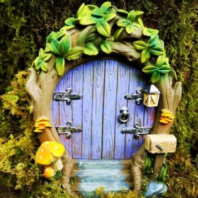 purple fairy door ireland