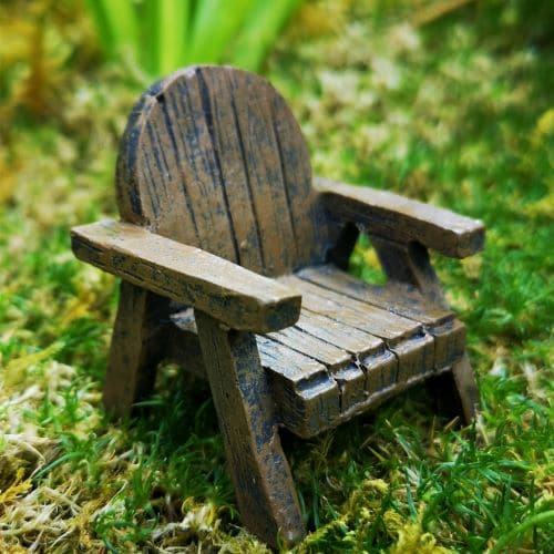 fairy garden armchair