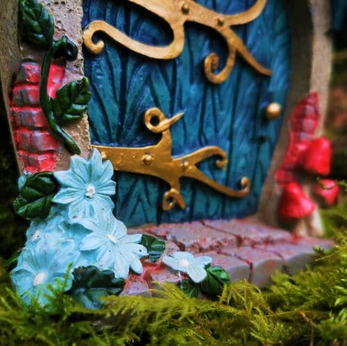 details of hobbit door