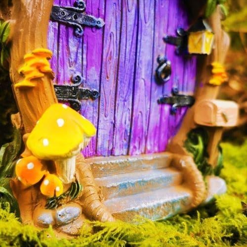 purple faery door