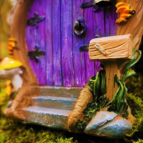 letter box on doorstep