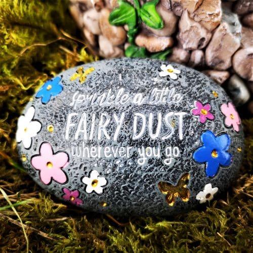 magic fairy wishing stone