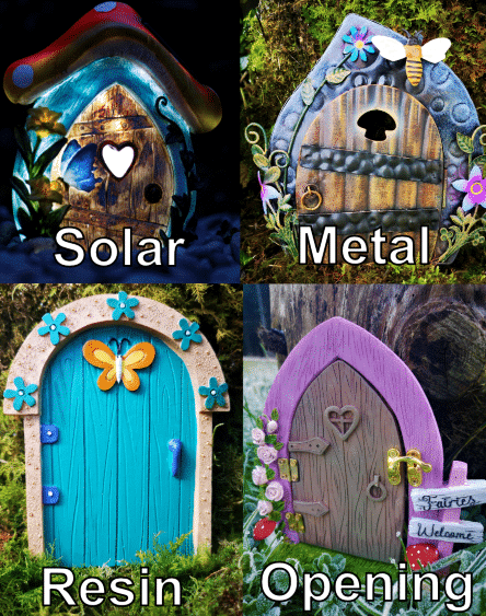 types of fairy doors