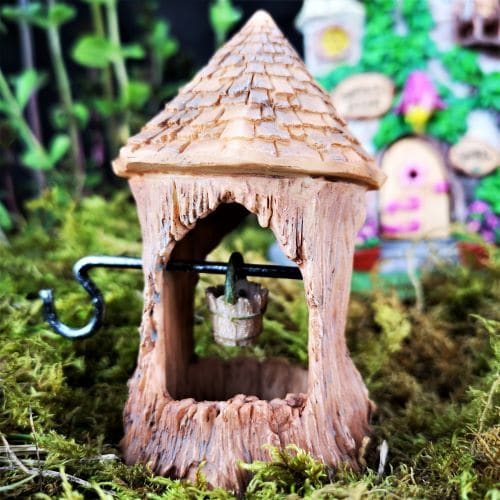 woodland wishing well fairy