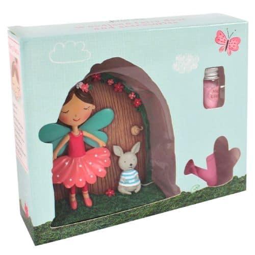 boxed pink fairy door setfairy