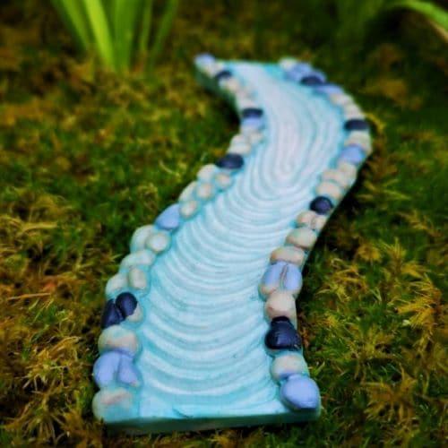 fairy garden stream accessory