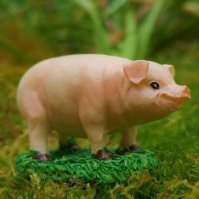 miniature fairy garden animal figurines