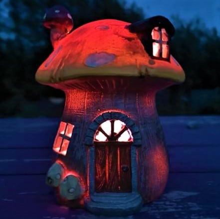 fairy house night light ireland