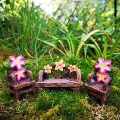 fairy furniture set