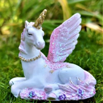 pink unicorn figurine ireland