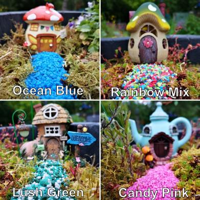 miniature fairy garden gravel