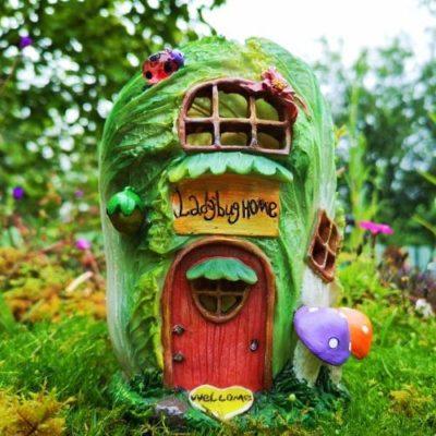irish solar fairy house
