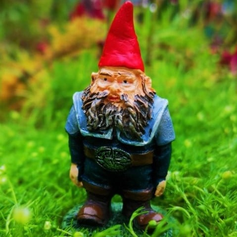 miniature gnome fairy garden figure