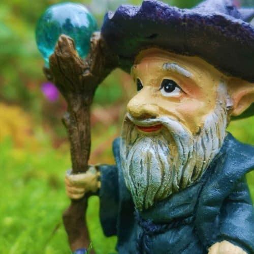 purple wizard ornament