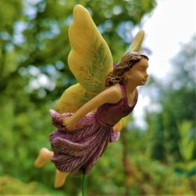 flying fairy figurine