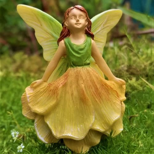 sunshine fairy garden miniature